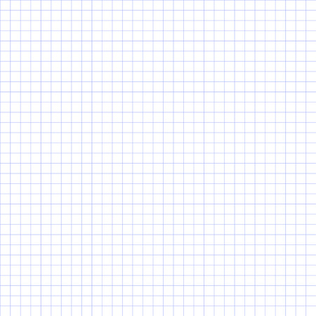 Seamless grid paper. Grid paper basic squares. Blue.