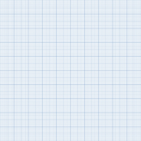 Seamless Graph paper. Blue Graph paper. Illustration