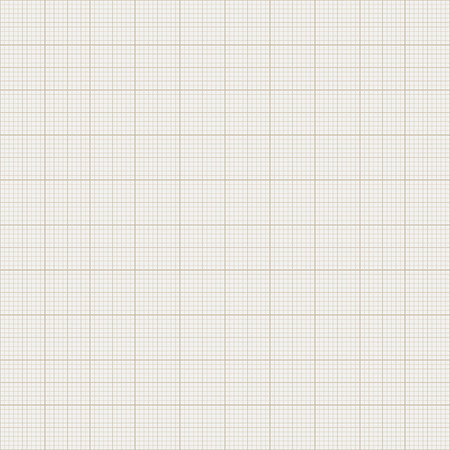 Seamless Graph Paper. Brown Graph Paper Beige Background. Vector