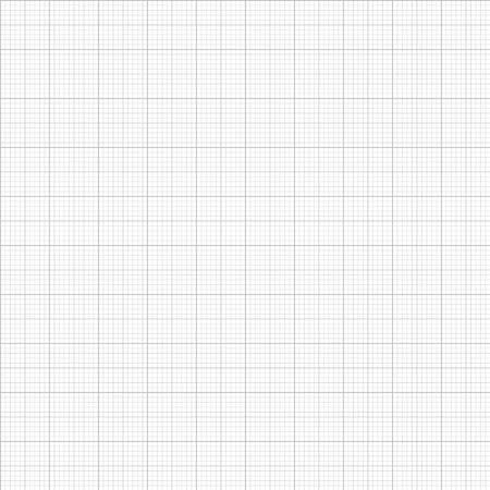 Seamless Graph and plotting paper. Gray Graph and plotting paper. Vector