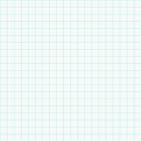 Graph and plotting paper. Green Graph and plotting paper. Seamless.