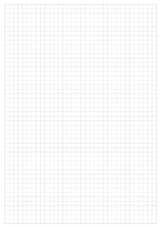 grid paper: Grid Paper Sheet.  Vector, Illustration of Gray Grid Paper Sheet.  White Boarder.