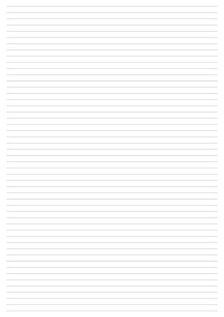 Paper Sheet. Vector, Illustration of Classic sheet of line Paper Sheet. Illustration
