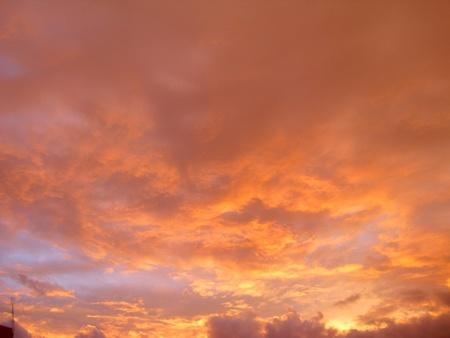 the glow of twilight