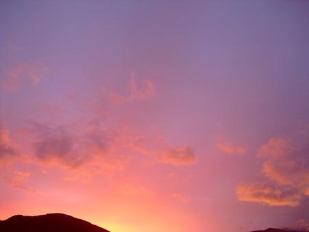 bright twilight Stock Photo