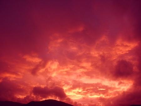 color magic of twilight Stock Photo - 9280238