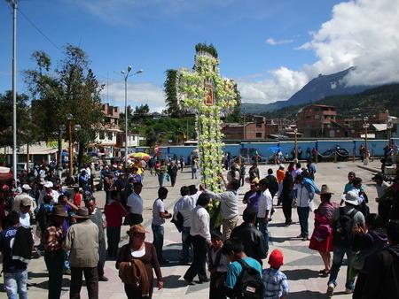 Andean religious festival