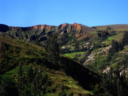 Andean landscape view