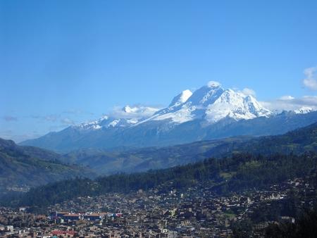 Huaraz Peru Stock Photo