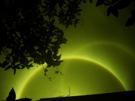splendor of the solar halo Stock Photo