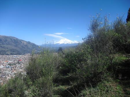 singular Andean landscape