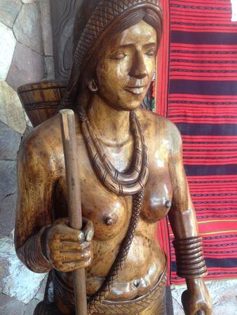 Philippine tribe in Babuio City. Igorot tribe from Ifugao