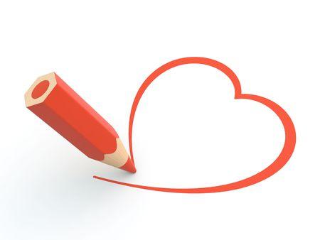 modern love: A Pencil and a love