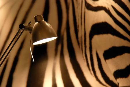 stria: Modern lamp Stock Photo