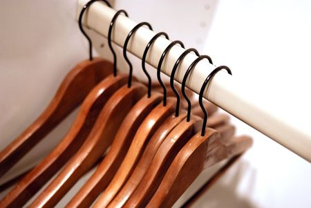 clothes hanger Stock Photo - 4609327