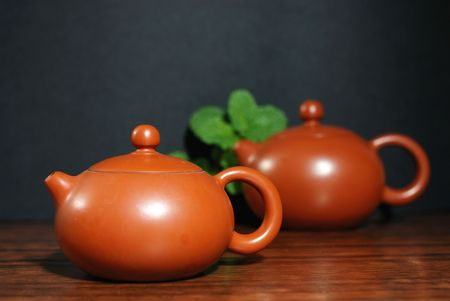 quenched: chinese teapot