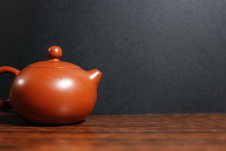 Isolated oriental tea set Stock Photo - 4652258