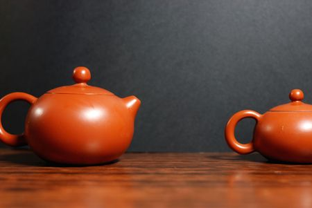 quenched: Oriental tea set