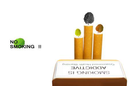 Smoking is harmful to health-My idea photo