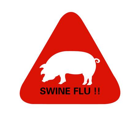 pandemic: Swine Flu Sign