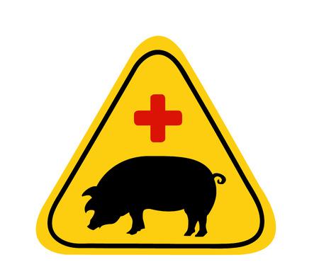Swine Flu Sign Stock Vector - 4770239