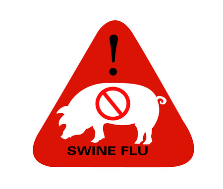 Swine Flu Sign Stock Vector - 4770241