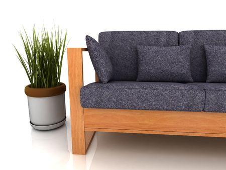 Modern Sofa Stock Photo - 5616114