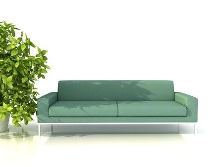 3dmax: interior design Stock Photo
