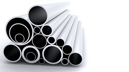 kunststoff rohr: Aluminium-Tube