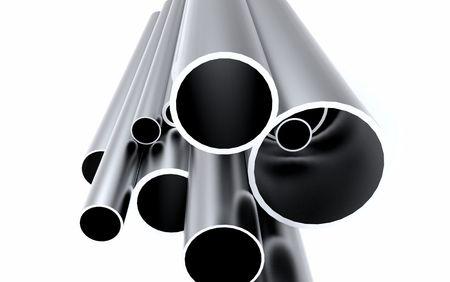 Aluminum Tube Stock Photo - 5625690