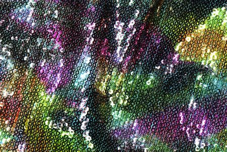 colorful Sequins  Stock Photo