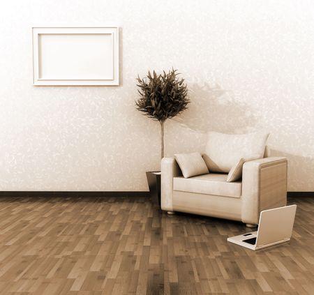 penthouse: Interior decoration