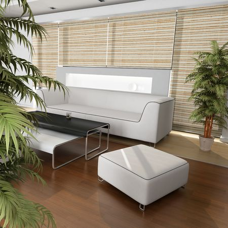 3dmax: Interior Design (living room)