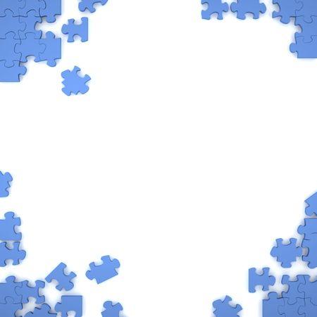 puzzel graphis ontwerp  Stockfoto