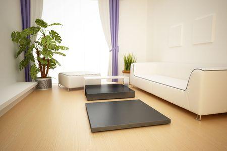 modern interior,3D rendering Stock Photo - 7047958