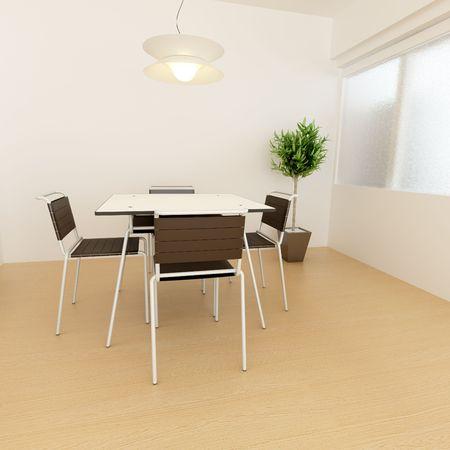 modern interior,3D rendering Stock Photo - 7047965