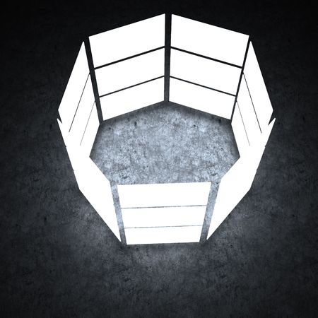 Several light box with blank space photo