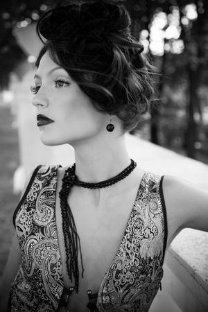 sexy black and white: Photography portfolio Stock Photo
