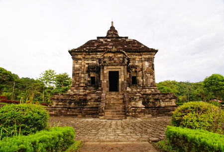 Banyunibo (in Javanese: dripping water) is a 9th-century Buddhist temple located in Yogyakarta, Indonesia.