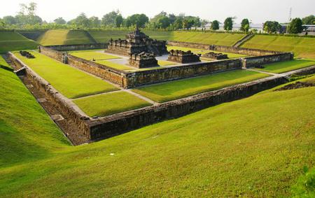 Sambisari is a 9th-century Hindu temple located in Yogyakarta, Indonesia Stok Fotoğraf