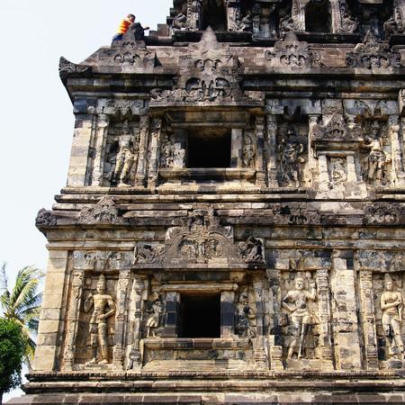 Sari Temple is an 8th-century Buddhist temple in Yogyakarta, Indonesia Stock Photo