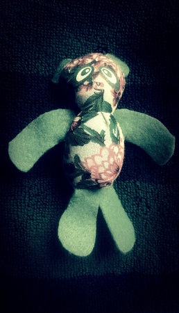 cotton: Cute Little Doll made from cotton