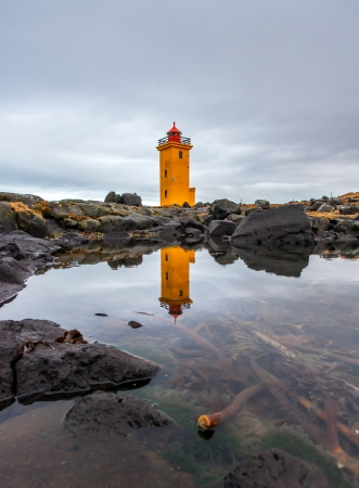 scandinavian peninsula: Lighthouse in Iceland