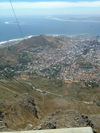 capetown: View of Capetown from Table Mountain