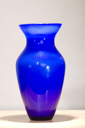wraith: Isolated blue vase ready to join a collection
