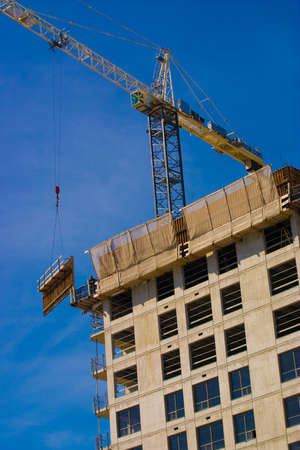 Working on a construction work site about to complete Stock Photo - 3592872