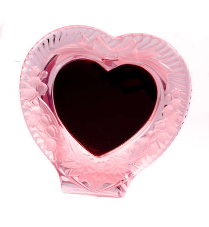 Isolated heart frame for valentine's day celebration Stock Photo - 4269493