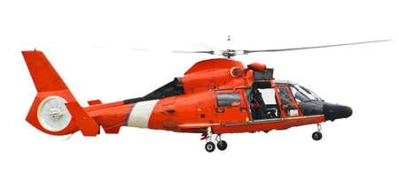 구조 헬리콥터는 차량에서 촬영 스톡 콘텐츠