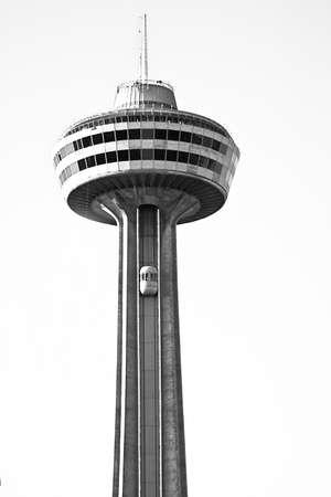 revolving restaurant tower (niagara falls ontario, canada) Editorial