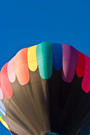 Colorful hot air balloon travelling to the sky Stock Photo - 8597544